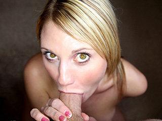 Teen chick with perky tits Jordan Denae sucks and fucks a mighty long cock
