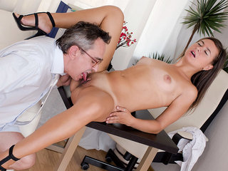 Being young and inexperienced Maia thinks she wants to suck her teachers cock more often.