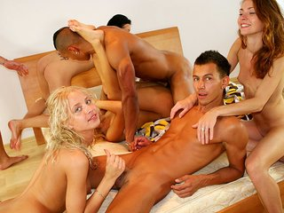 Mind-blowing adult party movie with group fuck